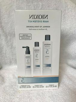 NIOXIN Hair System Kit  5 Cleanser, Scalp Therapy, Scalp Tre