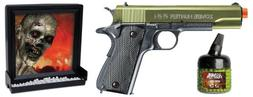 Zombie Hunter Target Pack 6mm Airsoft Pistol and Accessories