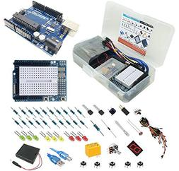 STEManGo Tinker's UNO R3 Starter Kit for Arduino with Protot