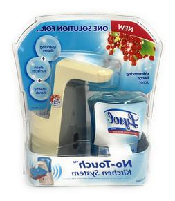 Lysol No-Touch Kitchen System Dish Soap Dispenser Starter Ki