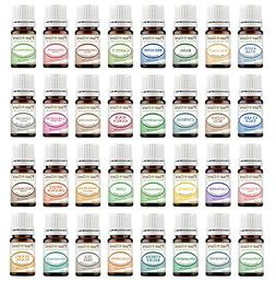 5ml Essential Oil Set 32 Sampler Kit With Blends 100% Pure T