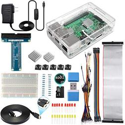 Smraza Ultimate Starter Kit for Raspberry Pi 3 B+, 3 Model B