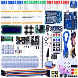 Quimat UNO R3 Project Super Starter Kit with Free Tutorial f
