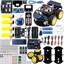 ELEGOO UNO Project Upgraded Smart Robot Car Kit. Intelligent