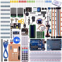 kuman UNO R3 Project Complete Starter Kit with TUTORIAL for