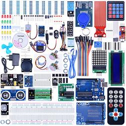 Quimat UNO R3 Project Complete Ultimate Starter Kit for Ardu