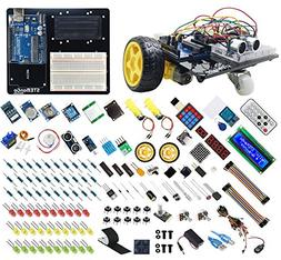 STEManGo UNO R3 Starter Kit for Arduino with Robot Car Proje