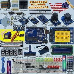 Epal Ultimate UNO R3 Starter Kit for Arduino 1602LCD Servo M