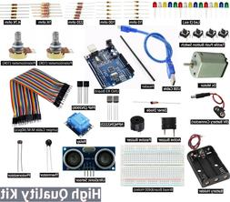 Arduino UNO R3 Starter Professional Level Basic Kit for smal