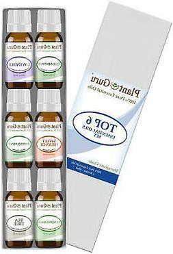 Essential Oil Set 6-10 ml Therapeutic Grade 100% Pure Tea Tr