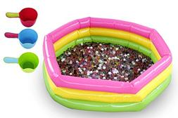Water Bead Starter Kit - 20,000 Water Beads for Kids + Infla