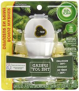 Air Wick Woodland Pine Scented Oil Starter Kit